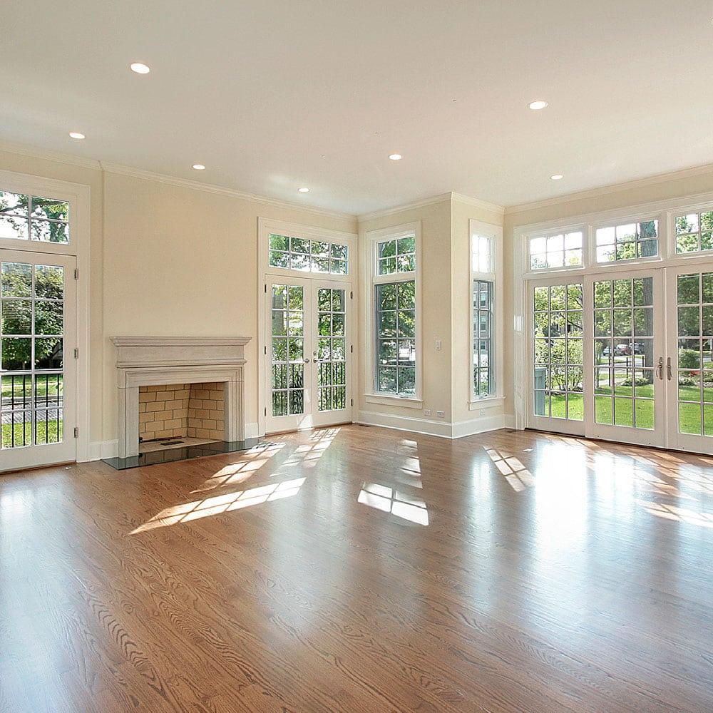 new wooden floors