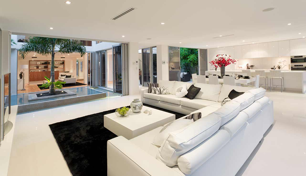 Modern Living Room in Bundaberg Home