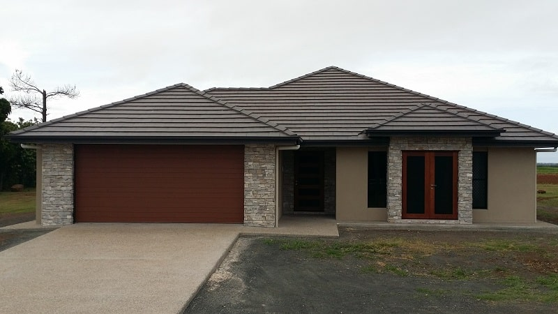example of modern home in bundaberg