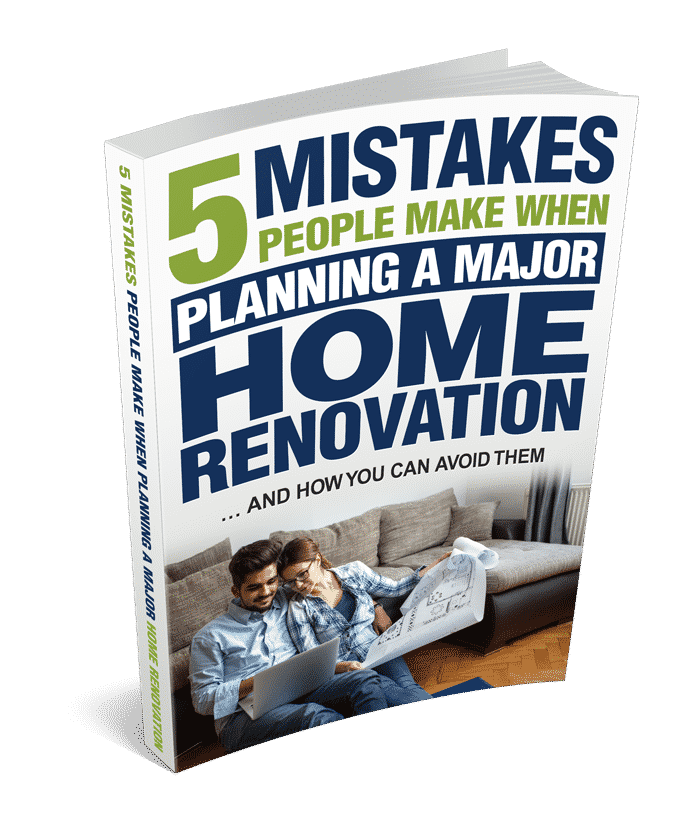 5 mistakes people make when planning a major home renovation