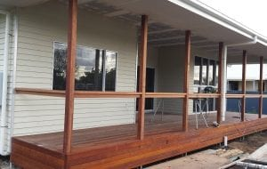 Gibsons Rd Burnett Heads deck