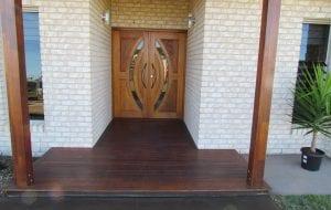 Lamington Court front door