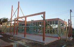 Logan Road Park build